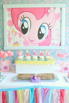 My Little Pony Party Food | My Little Pony Inspired Assembled | Party On!
