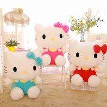 1 pcs altura 20 cm olá Kitty brinquedos de pelúcia de presente de aniversário para crianças dos namorados boneca KT gato(China (Mainland))