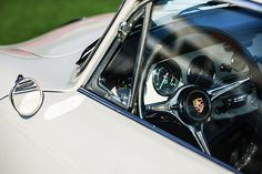 Images of Steering Wheels by Jill Reger - Steering Wheel Images -   1964 Porsche 356c Steering Wheel Emblem