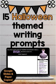 These writing prompts come with suggestions in the side bar for what to consider. This helps students to craft a well thought out response. 15 unique prompts! These come with paper prompts to print and distribute or as a virtual version!