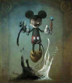 Creepy Kingdom – Graffiti World Disney Horror, Evil Disney, Horror Art, Zombie Disney, Character Art, Character Design, Epic Mickey, Disney Mickey, Walt Disney