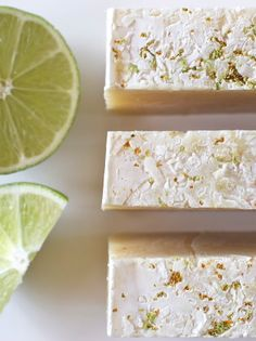 Recipe for Coconut-Lime cold process soap made with coconut milk and coconut-lime fragrance oil. -Tentance