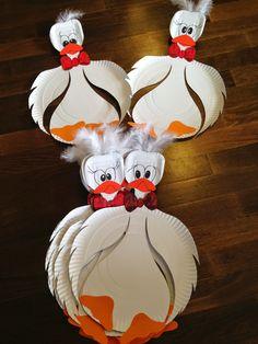 A Bingen található, a következőtől: szememtukreben.blogspot.com Farm Crafts, Cup Crafts, Paper Plate Crafts, Diy And Crafts, Arts And Crafts, Diy Projects For Kids, Halloween Crafts For Kids, Diy For Kids, Montessori Art