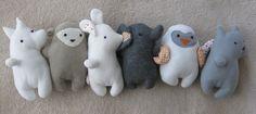 plush toy animals Mymo elephant bunny penguin