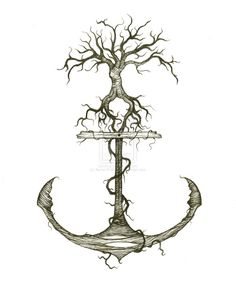 Viewing Gallery For - Anchor Drawings With Quotes , Family Anchor Tattoos, Family Tattoos, New Tattoos, Tatoos, Hook Tattoos, Friend Tattoos, Cool Sketches, Tattoo Sketches, Anchor Drawings