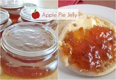 Apple Pie Jelly (with Ball Jam Maker) Apple Pie Jelly – The Country Cook Jelly Recipes, Jam Recipes, Canning Recipes, Apple Recipes, Recipies, Canning 101, Pressure Canning, Drink Recipes, Apple Pie Jelly