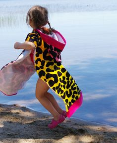 Beneath the Rowan Tree: Make It ::Hooded Beach Towel Poncho Tutorial (Rawr!)