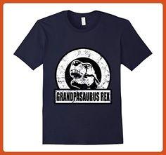 Mens Grandpasaurus Rex - Funny Grandpa Dinosaur T-Shirt 3XL Navy - Funny shirts (*Partner-Link)