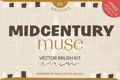 30% OFF: Midcentury Muse Brush Kit @creativework247