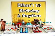 MyCupKates - Cakes, Cupcakes & Cookies: Toy Story Dessert Table
