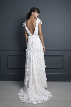 EBONY   WEDDING DRESS BY HALFPENNY LONDON