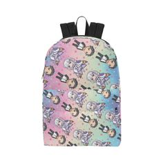 Rezero pattern Unisex Classic Backpack (Model 1673)