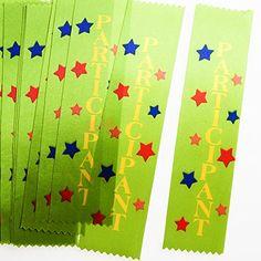 """""""Participant"""" Award Ribbons"""