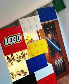 Ikea Cabinets Transformed Into Lego Storage