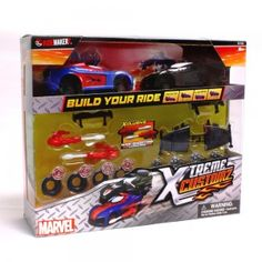 Win a Ridemakerz Xtreme Customz Spider-Man Swap kit!
