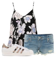 """School Day"" by air-bear-disigns on Polyvore featuring Ally Fashion, True Religion and adidas Originals"