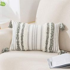 Decorative Pillow Covers, Throw Pillow Covers, Decorative Throw Pillows, Cushion Covers, Neutral Pillows, Knitted Cushion Pattern, Knitted Cushions, Neutral Bedrooms
