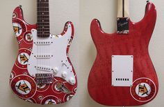 Rib Shack Promotional Guitars by Brand O' Guitar Company