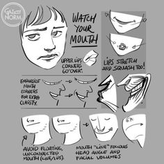 Tuesday Tips - Watch Your Mouth (new tip, which will be included in 100 Tuesday Tips Volume 2, available next year. The first volume is finally back in stock in our Etsy shop.)  Even without language, we communicate a lot with the shape of our mouth...