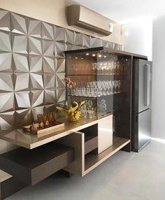 Modern Kitchen Designs www. Crockery Cabinet, Cabinet Decor, Cabinet Design, Bar Sala, Modern Home Bar, Home Bar Designs, Kitchen Designs, Cuisines Design, Bar Furniture