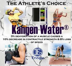 Kangen Water® The Athlete's Choice