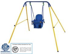 Indoor/Outdoor Folding Baby Swing & Safety Seat for Kids/Toddlers