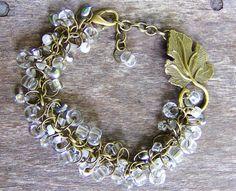 Crystal Beaded Jewelry Bracelet