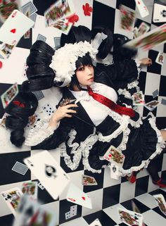 Celestia Ludenburg, Dangan Ronpa. Can we all just take a moment to admire this wig?