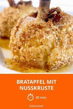 Bratapfel mit Nusskruste - smarter - Zeit: 30 Min. | eatsmarter.de