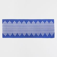 BLUE PRINTED COTTON RUG - Rugs - Bedroom | Zara Home United States of America