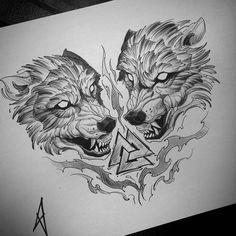 На данном изображении может находиться: рисунок old school frases hombres hombres brazo ideas impresionantes japoneses pequeños tattoo Wolf Tattoos, Torso Tattoos, Celtic Tattoos, Viking Tattoos, Animal Tattoos, Sleeve Tattoos, Star Tattoos, Celtic Wolf Tattoo, Chest Tattoo Drawings