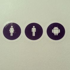 Female, Male, Android #android
