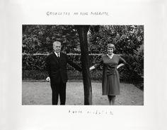 Duane Michals (b.1932) - 1965: Rene & Georgette Magritte