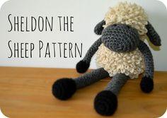 Sheldon the Sheep crochet pattern