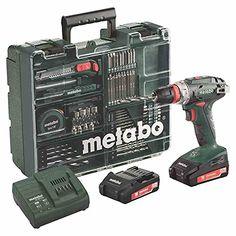 Perceuse visseuse METABO BS 18 Quick - 18V 2.0Ah + Set daccessoires 74 pièces - 602217880