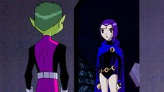 THE INFAMOUS HUG SCENE!!!!!!!!!!!!  BEST. THING. EVER.!!!  RAVENXBEASTBOY FOR LIFE!!!!!!!!!!!!!!!!!!!!!
