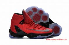 the best attitude 04cc6 c3940 Nike LeBron XIII Elite Red Black Dots Mens Basketball Shoes Air Max 90, Nike  Air