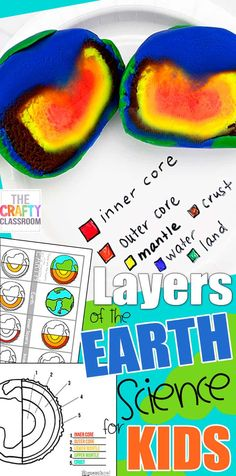 Layers of the Earth Project for Kids! Looking for Layers of the Earth Project Ideas? Try this model of the layers of the earth with your student today! Includes charts, worksheets, activities and more! Planets Activities, Earth Science Activities, Science Experiments Kids, Science For Kids, Science Projects, Projects For Kids, Project Ideas, Science Fun, Physical Science