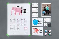 branding presentation for logo design 25 inspirational examples of brand presentation Event Branding, Logo Branding, Brand Identity, Packaging Design, Branding Design, Logo Design, Corporate Design, Event Design, Verbena