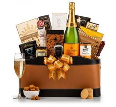 Veuve Clicquot Wine Basket   13378 from Print EZ Show off your taste in good wine and champagne by choosing this wine basket over others