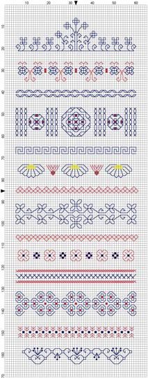 Blackwork Sampler- again, not knitting but I Love stitching black work
