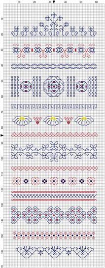 Blackwork Sampler- again, not knitting but I Love stitching black work