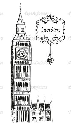 Download - Illustration of Big Ben London — Stock Image #11827316