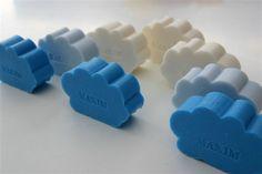 Wolken Seife - suikerbonen.com