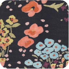 Nani Iro Navy Floral