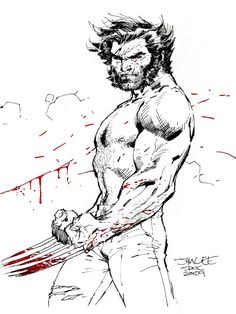 Wolverine by Jim Lee Comic Art