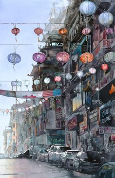 """San Francisco Lanterns"" by John Salminen"
