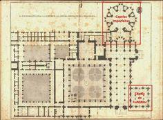 59. EL MONASTERIO DE BATALHA . PLANO El PROYECTO del templo, de planta a tres…