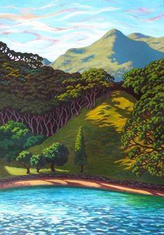Rachel Olsen Artist - buy Original New Zealand Art Karla Gerard, New Zealand Art, Nz Art, Kiwiana, Amazing Street Art, Ocean Art, Nature Paintings, Beach Art, Artist Painting