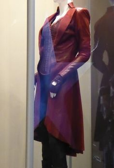 Scarlet Witch costume detail Captain America: Civil War